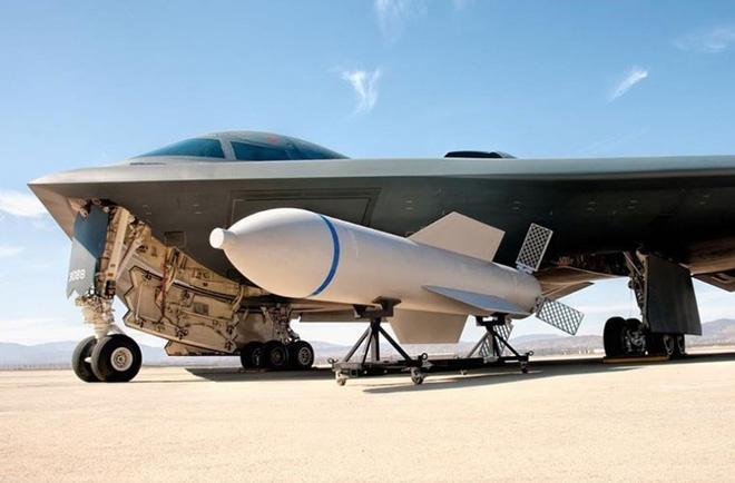 Bom GBU-57 có khả năng xuyên sâu tới 60 m. Ảnh: TTXVN