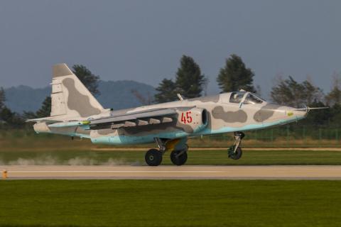 Cường kích Su-25 được Triều Tiên xem như 'quốc bảo'. Ảnh: Đất Việt
