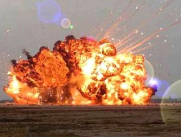 Bom FOAB có sức hủy diệt một vùng rộng lớn. Ảnh: ANTĐ