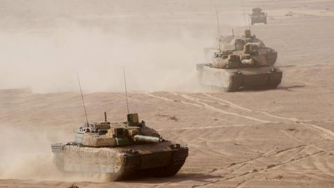 Xe tăng AMX-56 Leclerc của Nga. Ảnh: Đất Việt