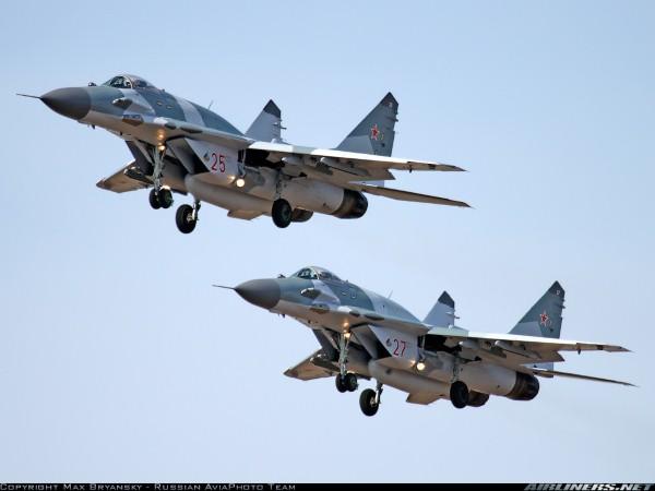 Tiêm kích MiG-29SMT-vũ khí lưng gù hiện đại nhất của Nga. Ảnh: Lao động
