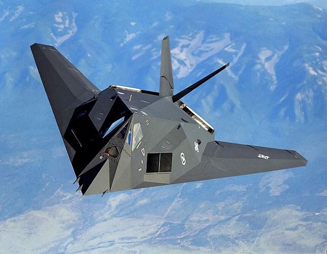 Chiến đấu cơ Lockheed F-117A. Ảnh: Kiến thức