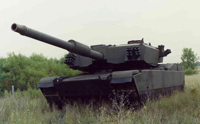 Xe tăng M1A3 Abrams Thumper. Ảnh: Trí thức trẻ