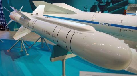 Phiên bản tên lửa Kh-38ME của Nga. Ảnh: Đất Việt