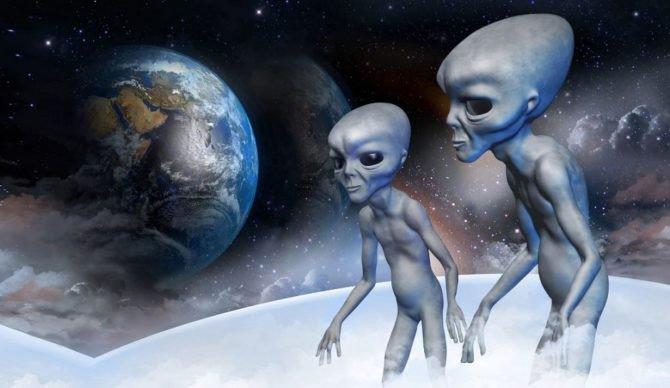 Người ngoài hành tinh có lẽ đang gửi tín hiệu xuống Trái đất. Ảnh minh họa