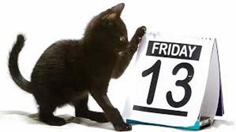 Thứ 6 ngày 13 được coi là một ngày xui xẻo của nhân loại. Ảnh minh họa