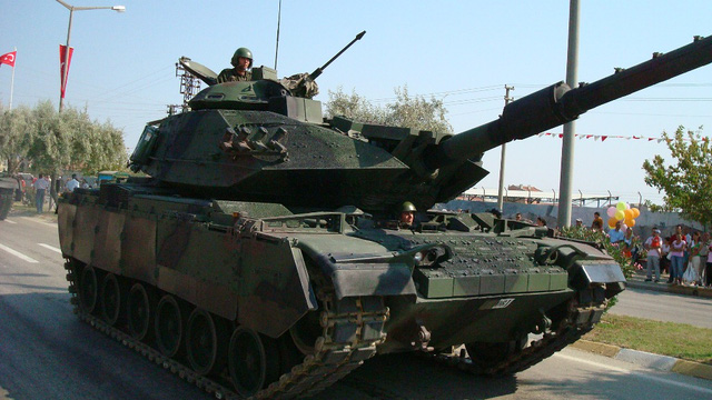 Xe tăng 60T Sabra của Thổ Nhĩ Kỳ. Ảnh: Trí thức trẻ