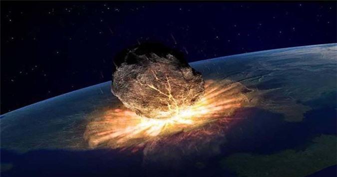 Trái đất đang gặp nguy vì một tiểu hành tinh sẽ có thể đâm trúng vào năm 2079. Ảnh minh họa