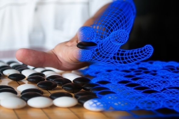 AlphaGo Zero có thể tự ''học'' cờ vây mà không cần người khác hướng dẫn. Ảnh: Trí thức trẻ