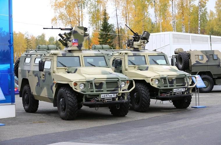 Xe bọc thép GAZ Tiger của Nga. Ảnh: Kiến thức