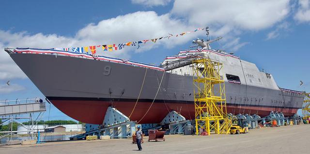 Tàu USS Little Rock. Ảnh: Reuters