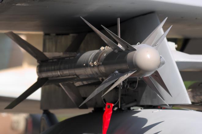 Tên lửa Python-5- vũ khí tầm ngắn độc đáo và tiên tiến nhất của Israel . Ảnh: Thời đại
