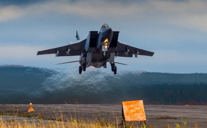 Tiêm kích MiG-31BM- lá chắn thép giúp Nga 'xưng bá'