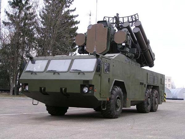 Hệ thống phòng thủ tên lửa T38 Stilet. Ảnh: ANTĐ