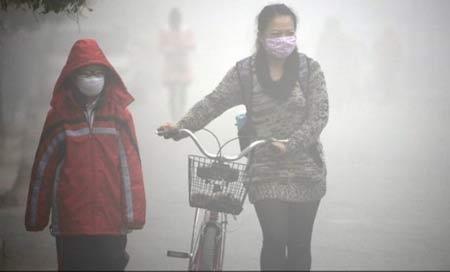 Ô nhiễm không khí đang ở mức báo động toàn cầu. Ảnh: Giao thông