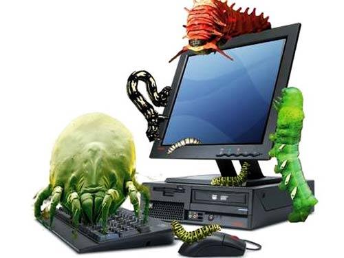 May tính Việt Nam rất dễ bị tấn công bởi phần mềm độc hại do tin tặc phát tán. Ảnh minh họa