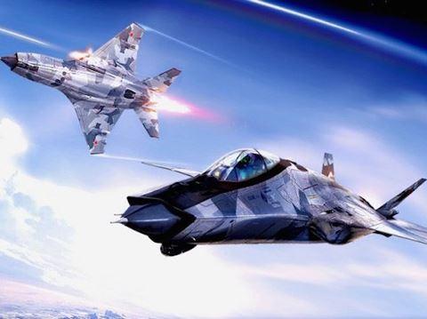 Tiêm kích MiG-41 là vũ khí của Nga đang tiến hành phát triển sẽ là đối thủ đáng gờm nhất thế giới. Ảnh: an ninh Thủ đô
