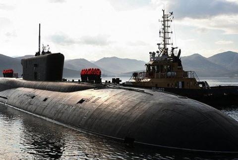 Tàu ngầm Hoàng tử Vladimir là vũ khí khó phát hiện vì chạy cực kỳ bí mật. Ảnh: Đất việt