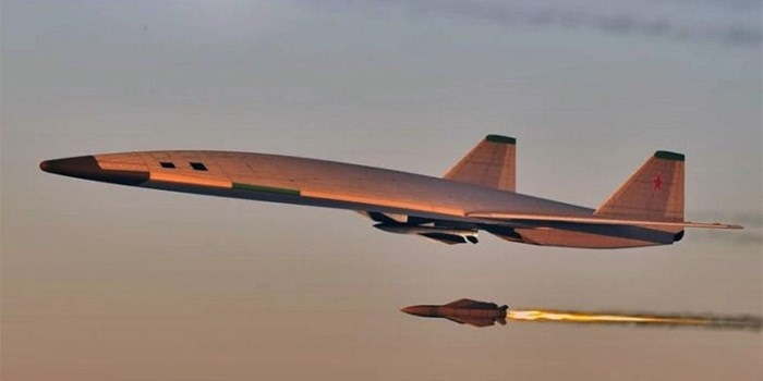 Máy bay ném bom tầm xe PAK-DA của Nga. Ảnh: VnMedia