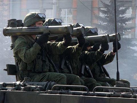 Súng phóng lựu RPO-A Shmel của Nga. Ảnh: ANTĐ