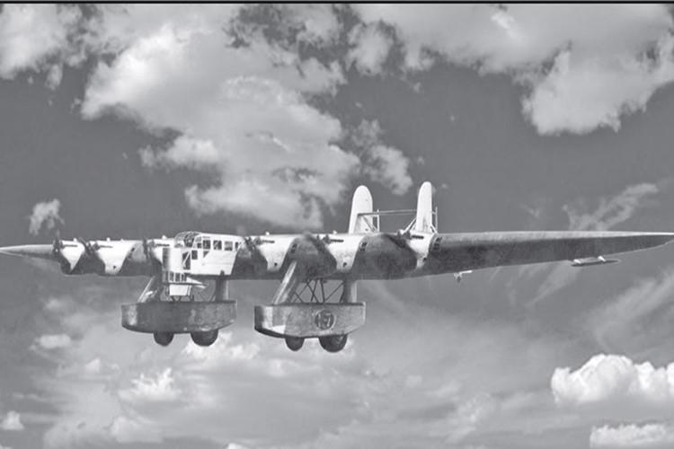 Máy bay Kalinin K-7 luôn gieo cơn ác mộng cho đối phương mỗi khi xuất hiện. Ảnh: Kiến thức
