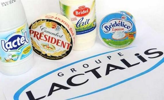 Sữa nhiễm khuẩn Lactalis đã lan sang 83 nước. Ảnh: SHTT