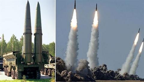 Tên lửa Iskander của Nga trở thành nỗi ám ảnh trong mọi cuộc chiến. Ảnh: Đất Việt