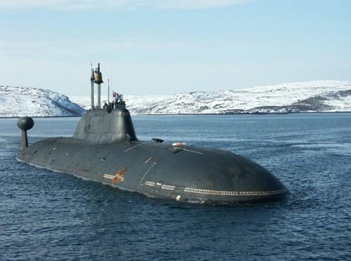 Tàu ngầm hạt nhân lớp Borei  của Nga. Ảnh: Người đưa tin