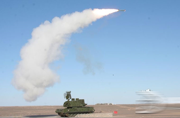 Tên lửa Tor-M1 của Nga. Ảnh: Kiến thức