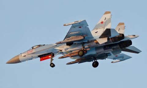 Tên lửa Kh-31 gắn trên máy bay của Nga. Ảnh: Đất Việt