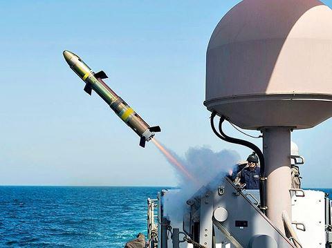 Tên lửa AGM-176 Griffin của Mỹ. Ảnh: ANTĐ