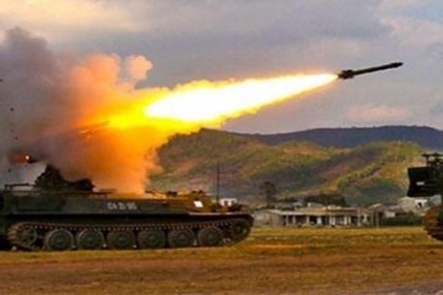 Một trong những hệ thống tên lửa Strela Nga khai hỏa. Ảnh: Lao động