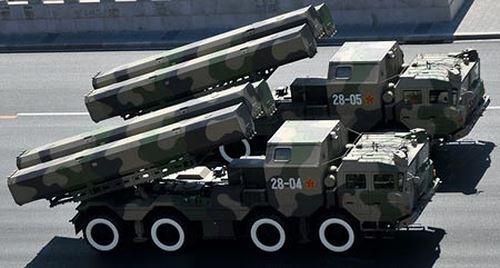 Tên lửa DF-10 của Trung Quốc. Ảnh: GDVN