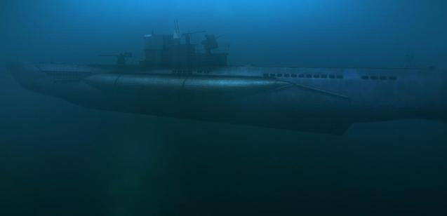 Tàu ngầm U-boat của Đức trở thành cơn ác mộng cho mọi đối thủ trong cả 2 cuộc đại chiến thế giới. Ảnh: Trí thức trẻ