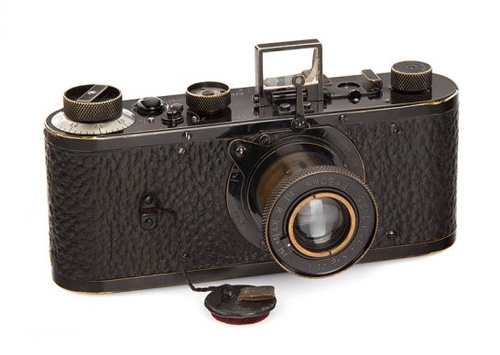 Máy ảnh Leica 0 Series trở thành chiếc máy ảnh đắt nhất thế giới. Ảnh: Thanh Niên