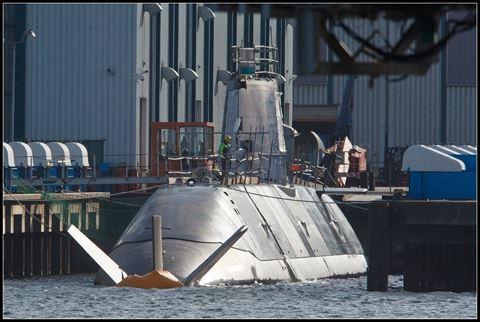 Tàu ngầm Dolphin là vũ khí phi hạt nhân có sức mạnh đáng gờm của Israel. Ảnh: ANTĐ