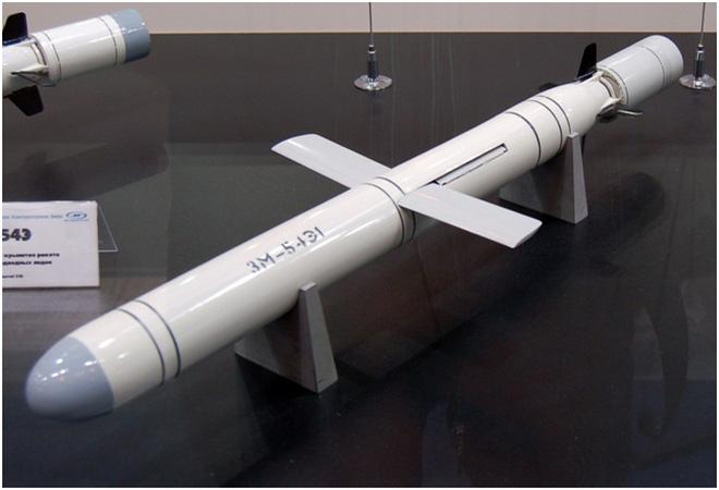 Tên lửa 3M-54E của Nga. Ảnh: Trí thức trẻ