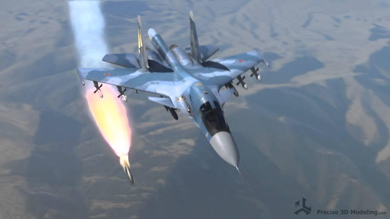 Máy bay Su-34 chính là vũ khí thần hộ mệnh bảo vệ Nga tại chiến trường Syria. Ảnh: Trí thức trẻ