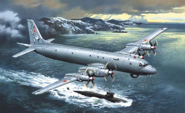 Máy bay săn ngầm của Nga khiến mọi mục tiêu phải xuất đầu lộ diện. Ảnh: Lao Động
