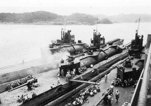 Tàu ngầm Nhật Bản mạnh khủng khiếp trong Thế chiến thứ 2. Ảnh: VnExpress