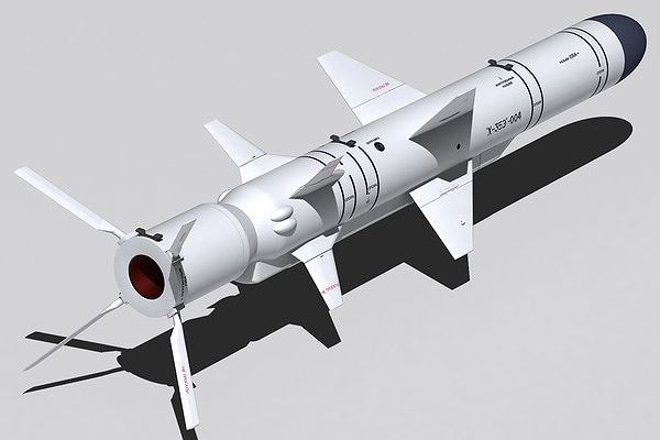 Tên lửa Kh-35 của Nga. Ảnh: ANTĐ
