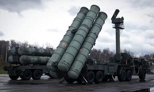 Hệ thống tên lửa S-300V4 của Nga. Ảnh: VOV