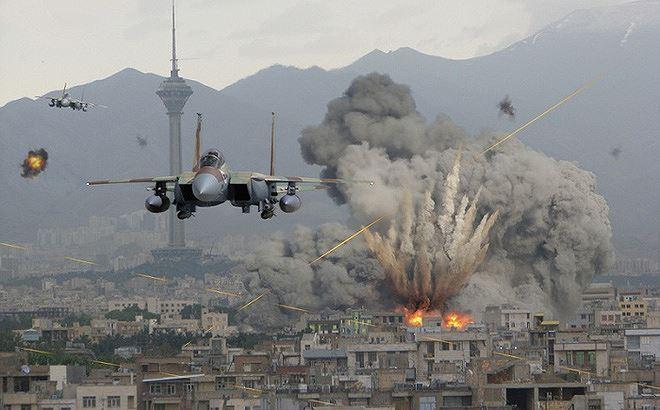 Máy bay F-15I Ra'am của Israel tấn công Syria. Ảnh: ANTĐ