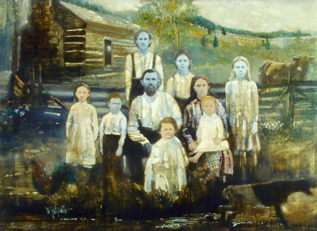 Gia đình ''da xanh'' bị người xung quanh xa lánh trong nhiều thập kỷ. Ảnh: IFL Science