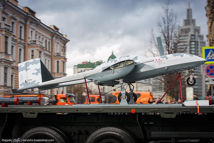 Máy bay không người lái Korsar sẽ là vũ khí đáng sợ tiếp theo tại chiến trường Syria. Ảnh: Kiến thức