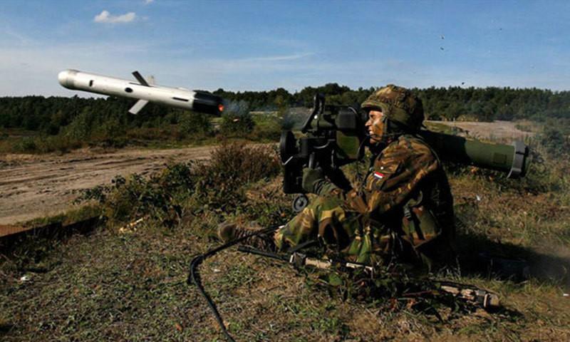 Tên lửa chống tăng Spike của Israel. Ảnh: Zing News