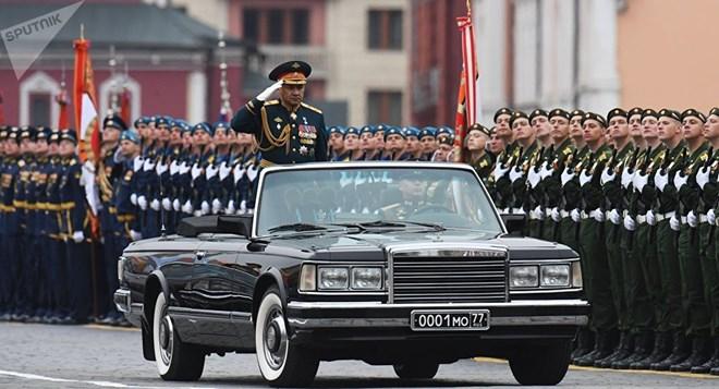Nga sẽ tổ chức lễ duyệt binh kỷ niệm Ngày Chiến thắng phát xít sẽ được diễn ra trên Quảng trường Đỏ. Ảnh: TTXVN
