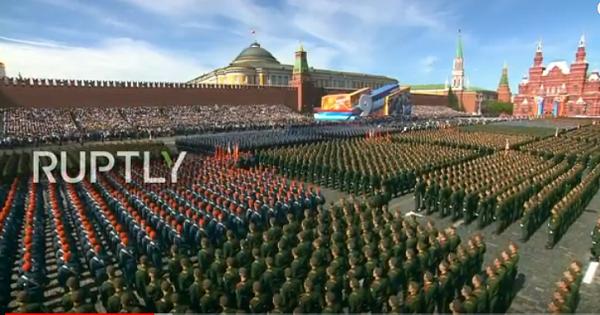 Lễ duyệt binh Quảng trường Đỏ kỷ niệm Ngày Chiến thắng phát xít 9/5 tại Quảng trường Đỏ. Ảnh: Zing News