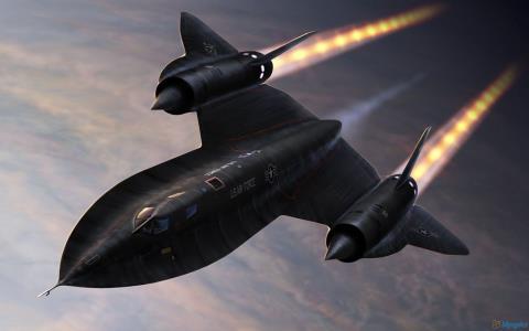 Máy bay SR-71 xứng danh ông hoàng tốc độ có thể tránh được cả tên lửa. Ảnh: Đất Việt