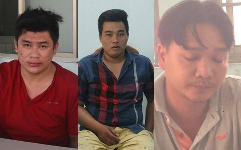 Nhóm cướp đâm tử vong hiệp sĩ đường phố bị bắt tạm giam. Ảnh: Vietnamnet